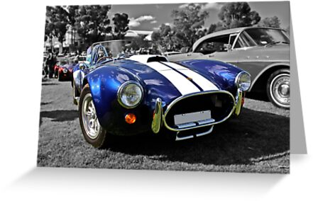 Blue AC Cobra by Ferenghi