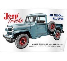 Jeep Trucks Poster