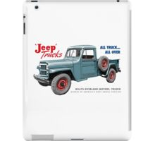 Jeep Trucks iPad Case/Skin