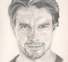 Tom Cruise by Bryant Bush