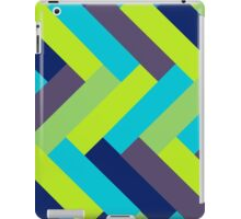 Peacock Colors Rectangle Pattern iPad Case/Skin