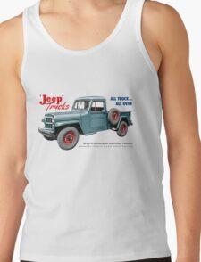 Jeep Trucks Tank Top