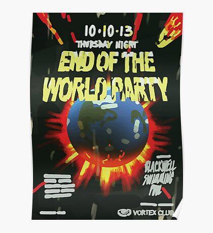 Vortex Club - End of the World Vortex Club Poster  Poster