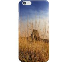 Sunset over Devils Tower .4 iPhone Case/Skin
