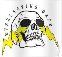 Everlasting Gaze Skull Logo Poster