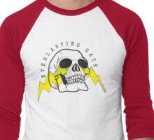 Everlasting Gaze Skull Logo Men's Baseball ¾ T-Shirt