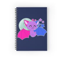 Bi Pride Bat Spiral Notebook