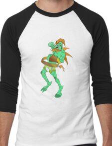 Alien Warrior Men's Baseball ¾ T-Shirt