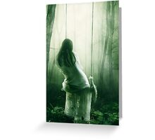 Immersed In Thoughts Greeting Card