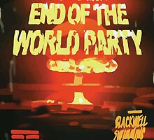 Vortex Club - Another End of the World Vortex Club Poster by scolecite