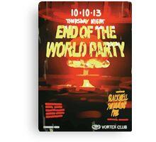 Vortex Club - Another End of the World Vortex Club Poster Canvas Print