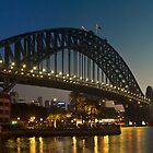 Sydney Harbour Bridge by Leighton Wallis