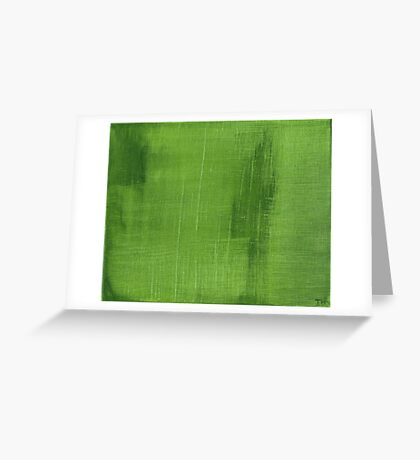 Cut Grass Greeting Card