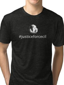 Justice For Cecil Tri-blend T-Shirt