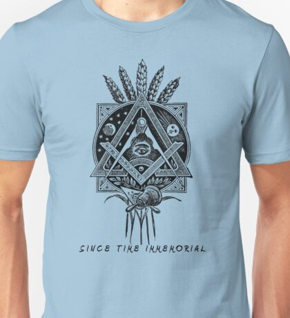 """Since Time Immemorial"" Masonic shirt Unisex T-Shirt"