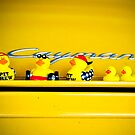 Yellow Ducks Racing picks a yellow car! by Susana Weber