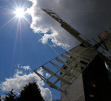 Sunset at Cromer Windmill by Steve Burke