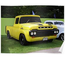 HOT ROD PICK UP Poster