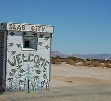 slab city by Amanda Huggins