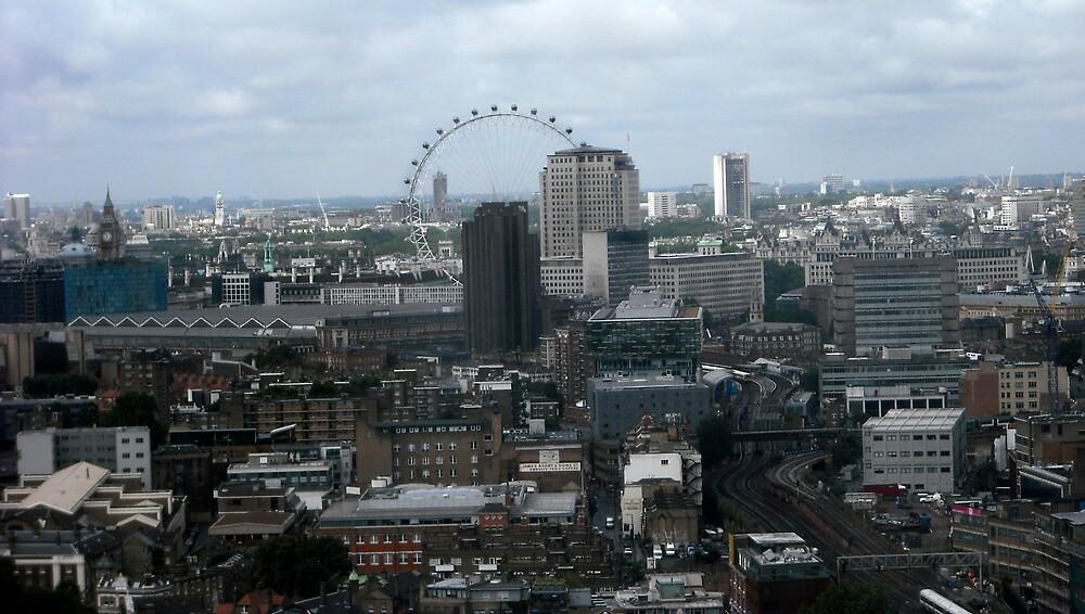 London at 200 feet by Steve Burke