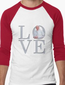 Love with Pope Francis Men's Baseball ¾ T-Shirt