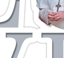Love with Pope Francis Sticker