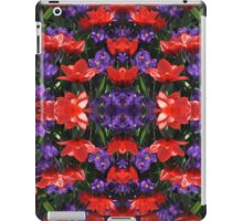 Red and purple iPad Case/Skin