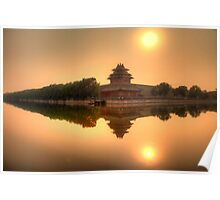 The Forbidden City, Beijing Poster