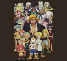 one piece straw hat kids luffy zoro nami anime manga shirt by ToDum2Lov3