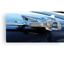Pontiac Chief Hood Ornament Canvas Print