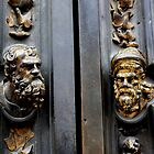 The Florence Baptistry; the door by Indrani Ghose