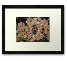 Shrimps on the Barbie Framed Print