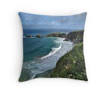 Coastal Britain - Northern Ireland Throw Pillow