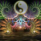 Equilibrio : Fractal YinYang  by webgrrl