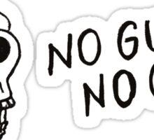 No Guts No Glory Sticker