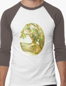 Peaceful Link Men's Baseball ¾ T-Shirt