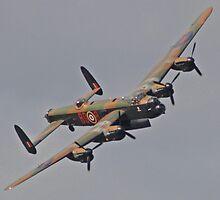 Avro Lancaster Bomber - Wings & Wheels Dunsfold Surrey 2010 by pathseeker