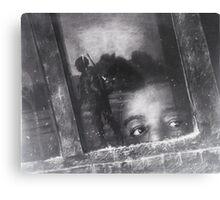boggy man-children of war series Canvas Print