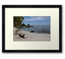 I Will Be There Always Framed Print