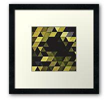 Yellow Crush Framed Print