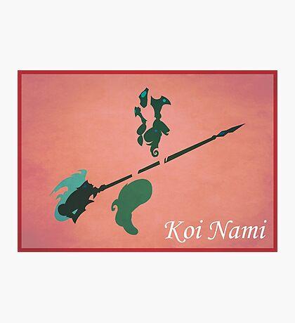 Koi Nami Photographic Print