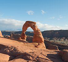Delicate Arch by Morag Anderson