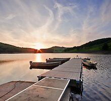 Ladybower Sunkissed by James Grant