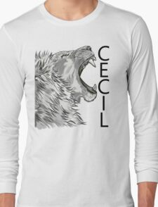 Memory of Cecil the Lion Roaring T-Shirt