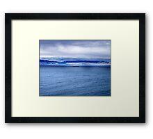 Safe Voyage Framed Print