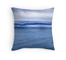Safe Voyage Throw Pillow