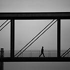 Walking in the air by Giulio Bernardi