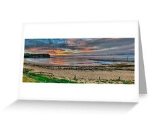 New Horizons - Mona Vale Beach, Sydney - (30 Exposure HDR Pano) - The HDR Experience Greeting Card