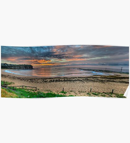 New Horizons - Mona Vale Beach, Sydney - (30 Exposure HDR Pano) - The HDR Experience Poster