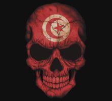 Tunisian Flag Skull Kids Clothes